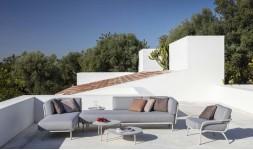 Salon de jardin contemporain luxe
