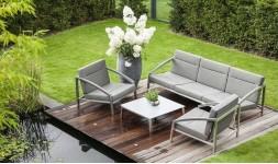 Salon de jardin bas haut de gamme