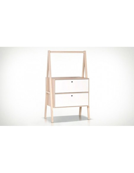 Commode blanche design scandinave