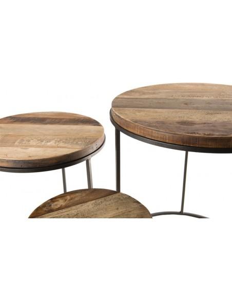 Set de tables gigognes
