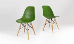 chaise dsw vert foncé