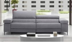Canapé tissu 3 places gris