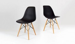 Chaise noire eames