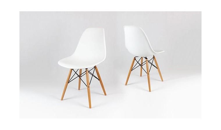 chaise blanche eiffel