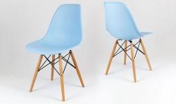 chaise eiffel bleu ciel