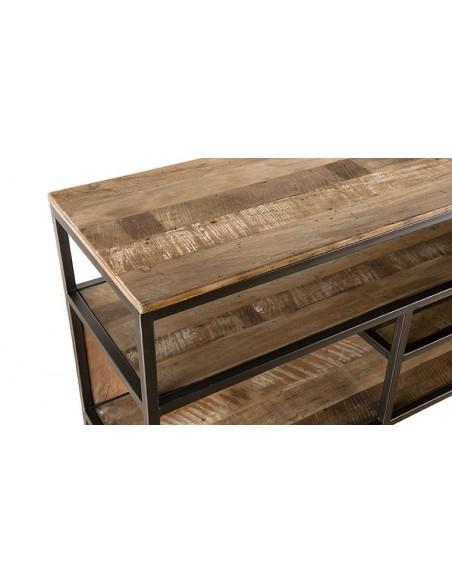 Console en bois recyclé