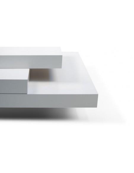 Table basse design Blanche SLATE BLANCHE