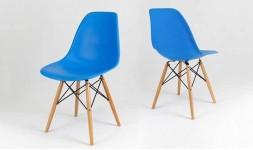 Chaise bleu aquatique