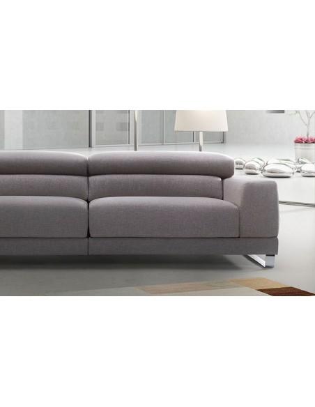 Canapé design 2 places tissu
