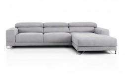 Canapé d'angle classique en tissu