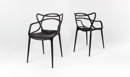 Fauteuil design noir Master