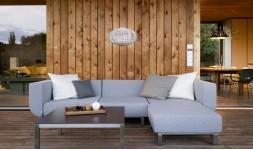 Canapé d'extérieur design 3 places