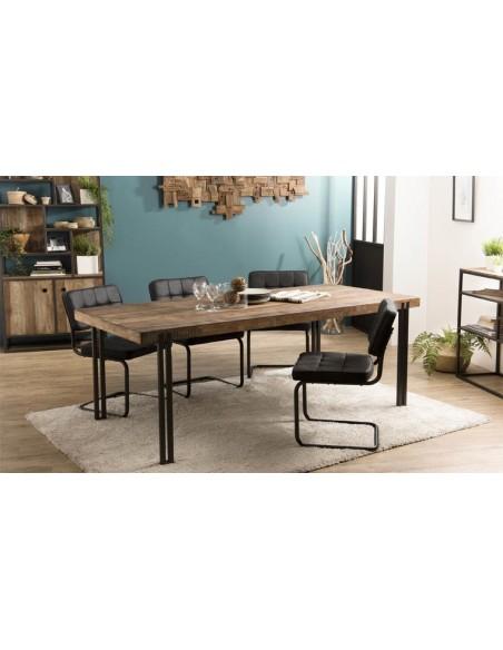 Table salle à manger en bois recyclé