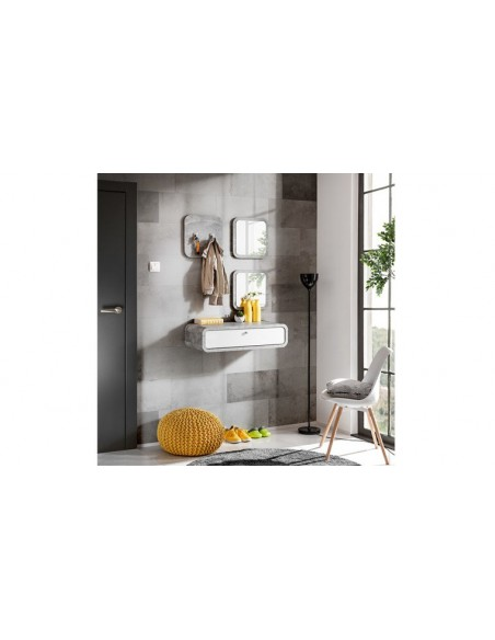 coiffeuse murale chambre