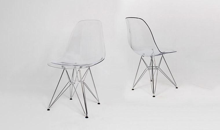 Chaise Design Transparente Inspiration Modle DSR Charles Eames