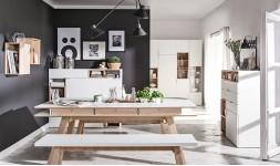 Table design blanche 200 cm