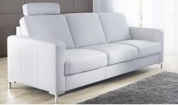 Canapé en cuir design classique convertible