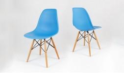 Chaise bleu océan