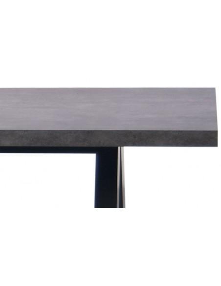 Table de salle à manger apex béton