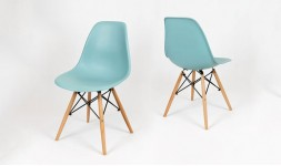 Chaise bleu bondi