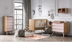 Chambre bébé évolutive vintage