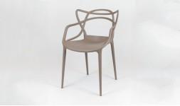 Chaise marron design