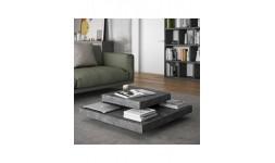 table basse slate béton
