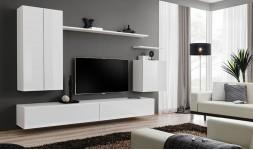 Ensemble TV mural blanc