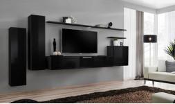 meuble TV minimaliste noir