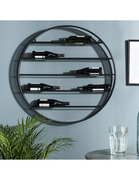 étagère à vin ronde