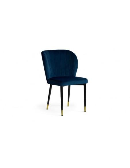 Chaise bleu marine design
