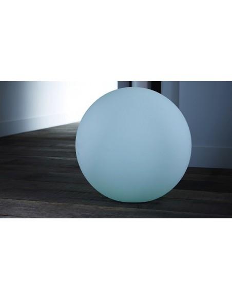 Boule lumineuse ronde intérieur extérieur LED multicolore