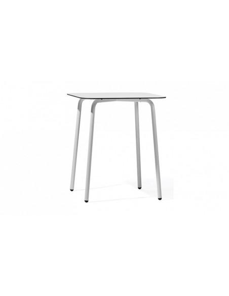 Table bar de jardin carrée haut de gamme