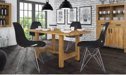 Table design en chêne massif