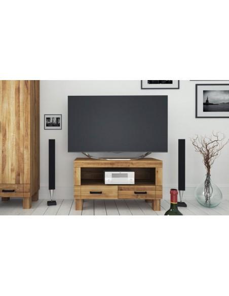 Petit meuble télé chêne massif