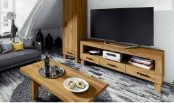 mobilier télé chene massif