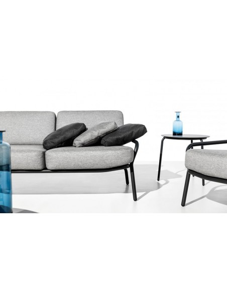 Canapé de jardin 3 places de luxe