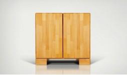 Commode design 2 portes