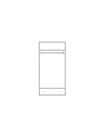 Armoire dressing blanc