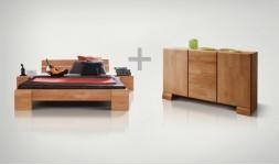 Pack lit design et commode