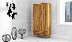 Armoire chêne massif 2 portes