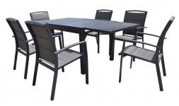 Salon de jardin 6 fauteuils