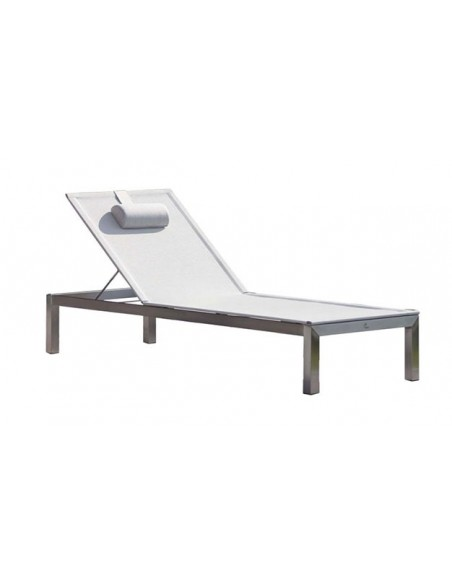 bain de soleil de luxe inox