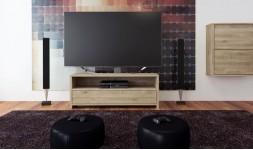 meuble télé chêne massif clair