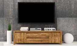 Meuble design pour télé suspendue