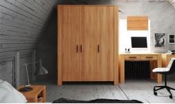 Armoire en bois massif 3 portes