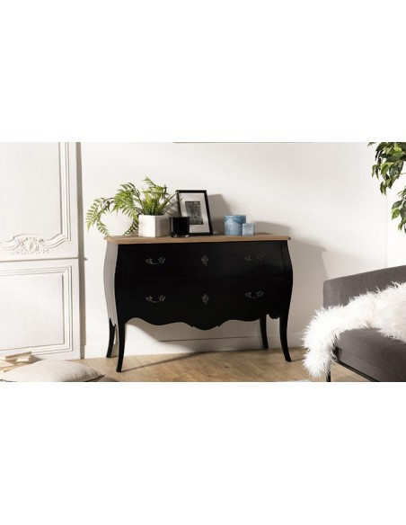 Commode en manguier noir