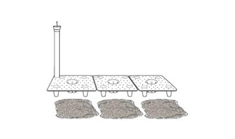 Kit réservoir d'eau pour Jardinière KUBE HIGH