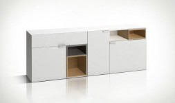 Grande commode design blanche