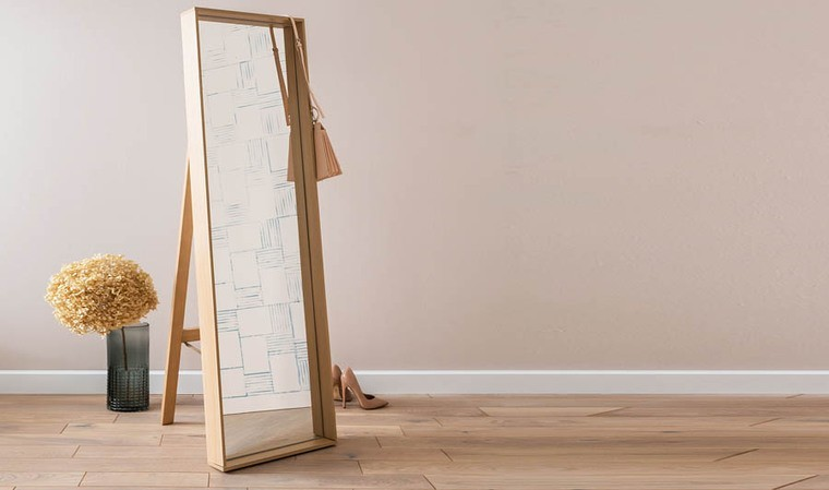 Miroir debout design